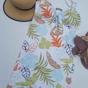 🎉Tommy Bahama|Cotton Tank Dress|Hawaiian Floral